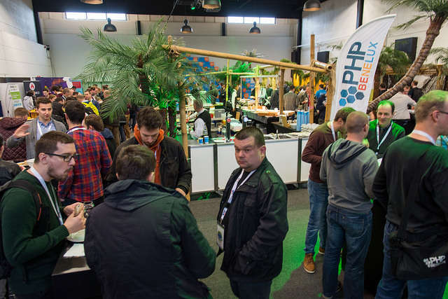 PHPBenelux Conference 2016 expo jungle