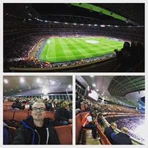Arsenal - Olympiacos, Champions League group stage game