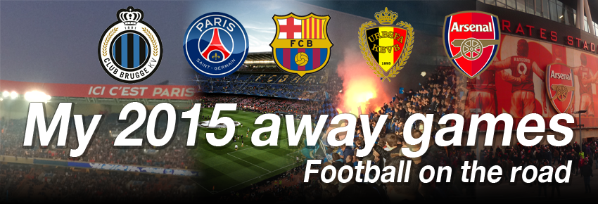 My 2015 away games - football on the road