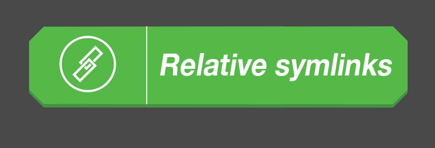 Relative symlinks