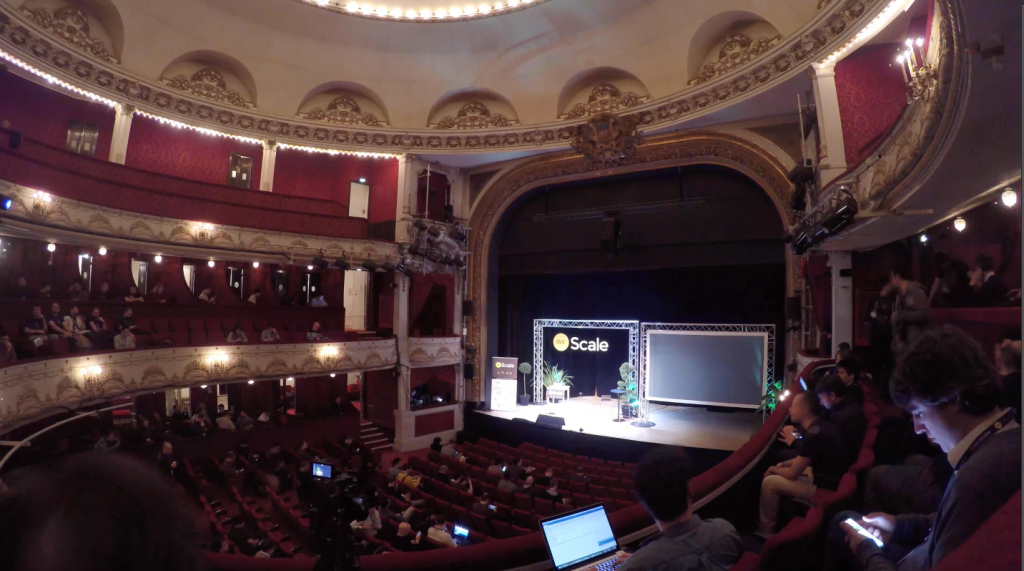 dotScale 2016 in théatre de Paris