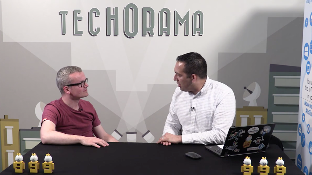 Thijs Feryn's interview with Channel 9 at Techorama