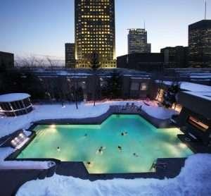 Hotel Bonaventure Montreal pool