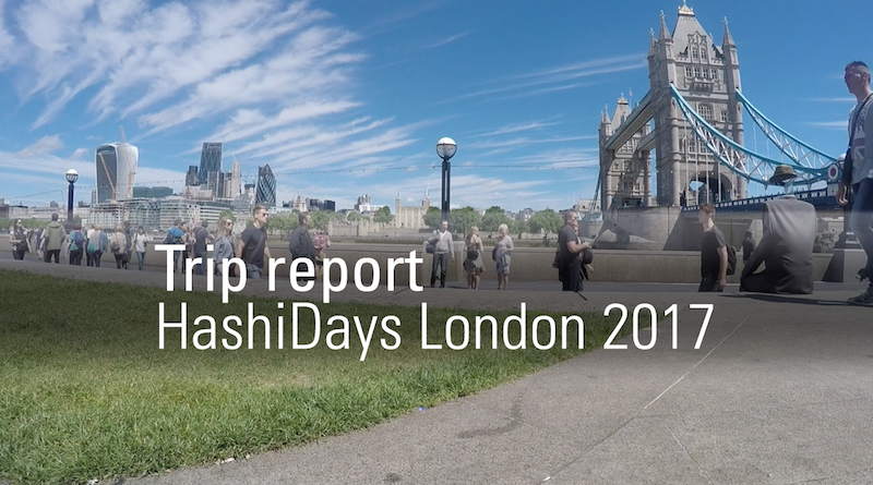 HashiDays London 2017