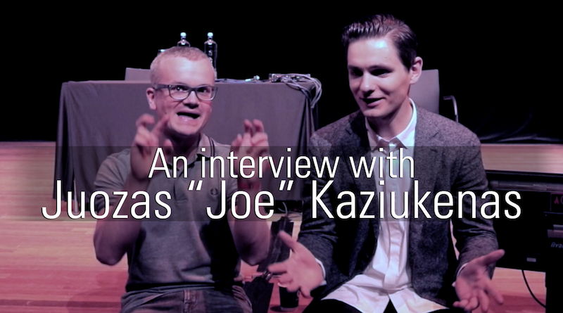 An interview with Juozas Kaziukėnas