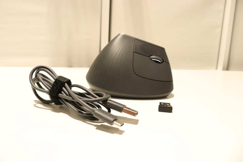 Logitech MX Vertical mouse contents